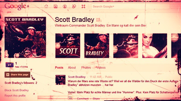 Google Plus: Scott Bradley