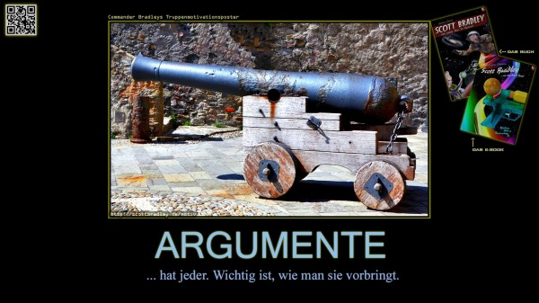 Truppen-Motivationsposter #12: Argumente